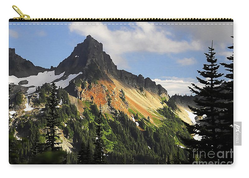 Mountains Carry-all Pouch featuring the photograph Tatosh Range by David Lee Thompson