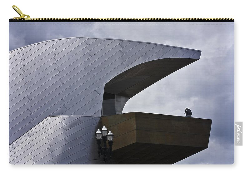 Roanoke Carry-all Pouch featuring the photograph Taubman Ledge Sculpture Roanoke Virginia by Teresa Mucha