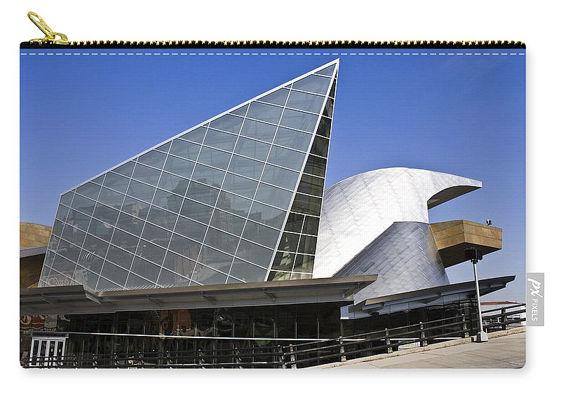 Roanoke Carry-all Pouch featuring the photograph Taubman Museum Of Art Roanoke Virginia by Teresa Mucha