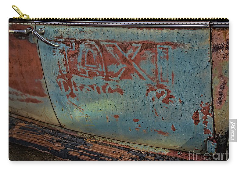 Old Carry-all Pouch featuring the photograph Taxi To Nowhere by Janice Pariza