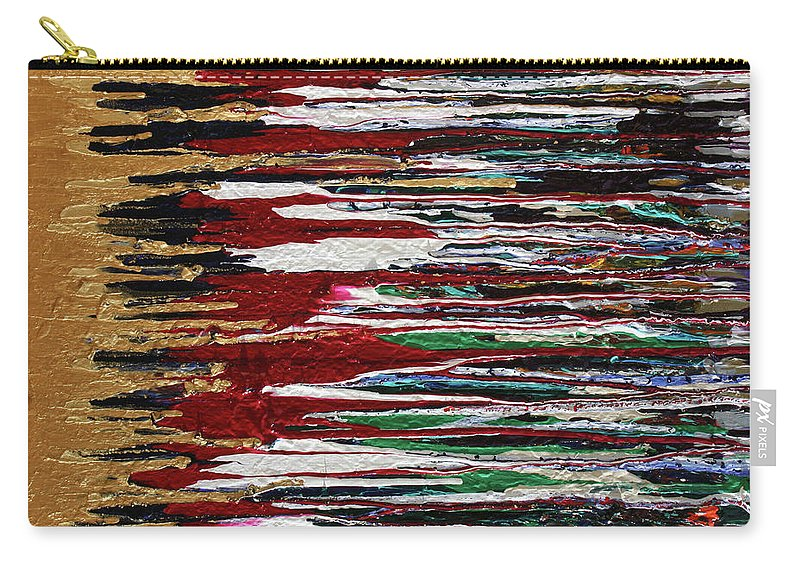 Fusionart Carry-all Pouch featuring the painting Tears of the Sun by Ralph White