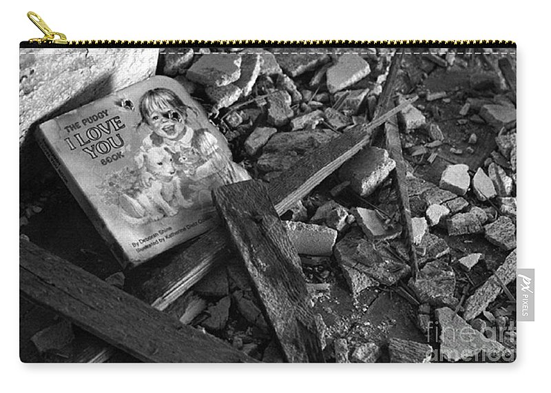 Dark Art Carry-all Pouch featuring the photograph Tell Me A Story by Peter Piatt