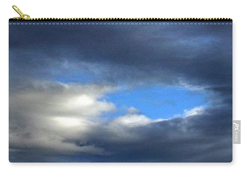 Nature Carry-all Pouch featuring the photograph Temporary by Skip Willits