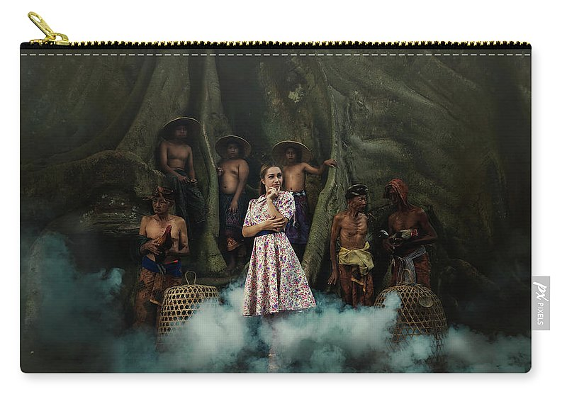 Elena Riim Carry-all Pouch featuring the photograph Temptation by Elena Riim