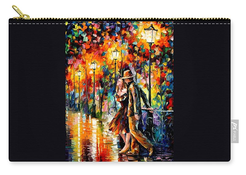 Scenery Carry-all Pouch featuring the painting Tempter by Leonid Afremov