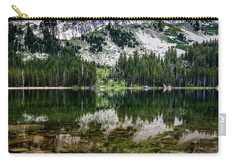 Landscape Carry-all Pouch featuring the photograph Tenaya Lake by Gary Migues