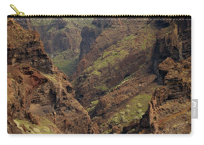 Valasretki Carry-all Pouch featuring the photograph Tenerife Coastline by Jouko Lehto