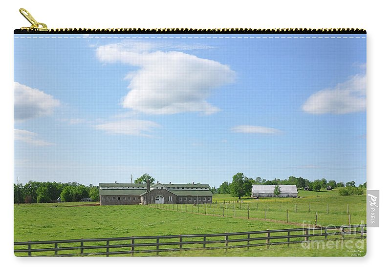 Tennessee Farm Carry-all Pouch featuring the photograph Tennessee Farm by Wanda-Lynn Searles