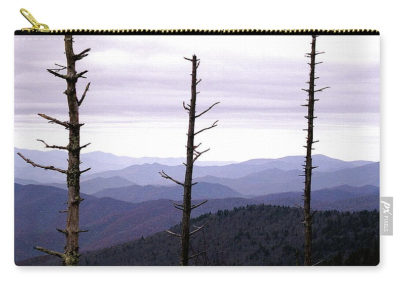 Tennessee Carry-all Pouch featuring the photograph Tennessee Mountains by Michael Peychich