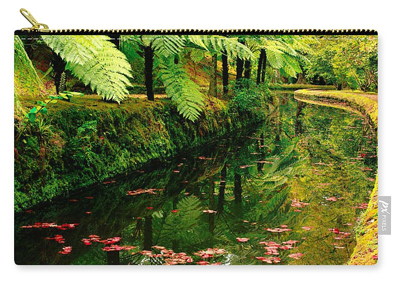 Azores Carry-all Pouch featuring the photograph Terra Nostra Park by Gaspar Avila