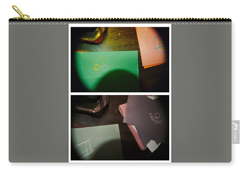 Abstract Carry-all Pouch featuring the photograph Testimony by Alwyn Glasgow