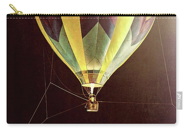 Tether Carry-all Pouch featuring the photograph Tether Before Sunrise by Bob Orsillo