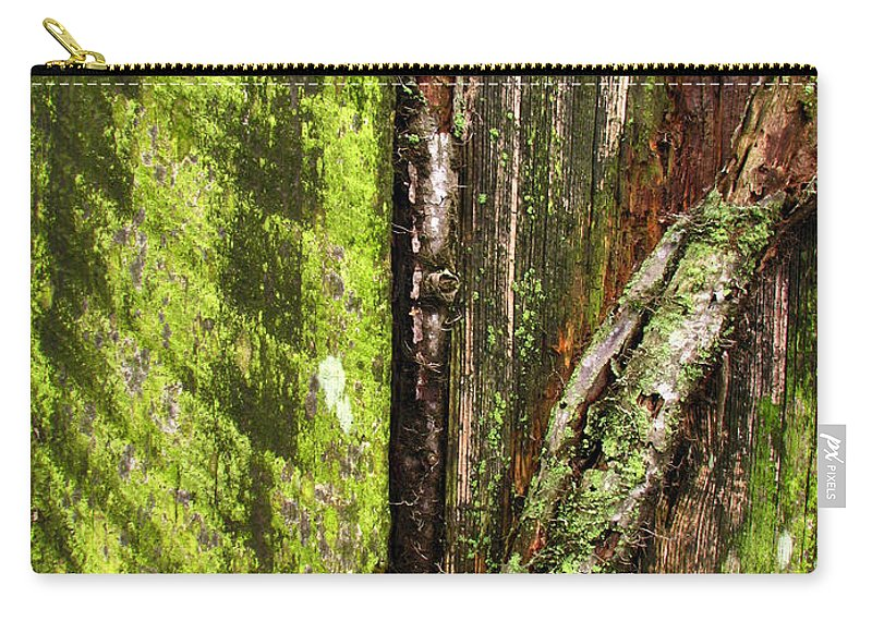 Texture Carry-all Pouch featuring the photograph Texture Series by Amanda Barcon