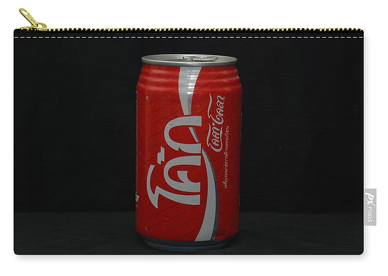 White Carry-all Pouch featuring the photograph Thai Coke by Rob Hans