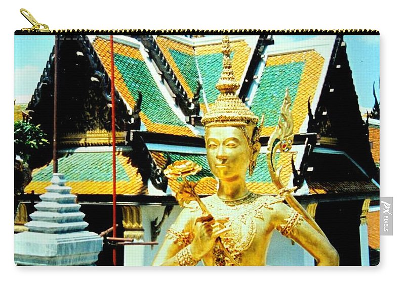 Bangcock Carry-all Pouch featuring the photograph Thailand by Ian MacDonald