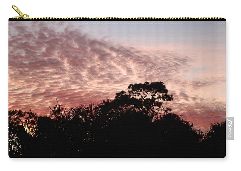Sky Carry-all Pouch featuring the photograph Thanksgiving Sky by Rob Hans