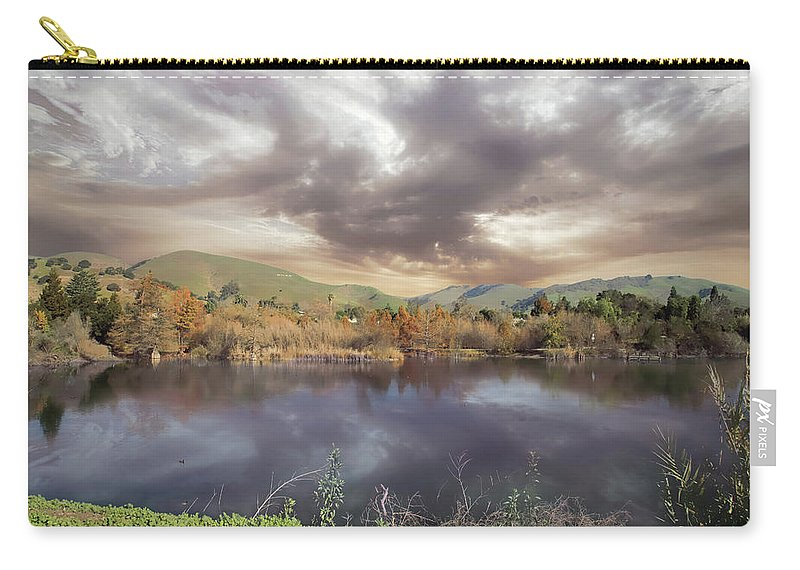 Niles Community Park Carry-all Pouch featuring the photograph That Magic You Make by Laurie Search