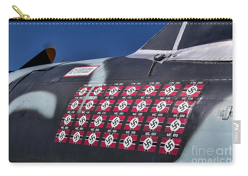 Republic P-47 Thunderbolt Carry-all Pouch featuring the photograph The Ace by Tommy Anderson