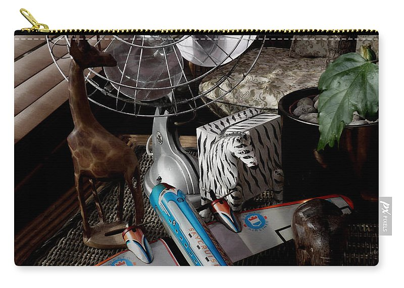 Still Life Carry-all Pouch featuring the photograph The African Fantasy by Charles Stuart