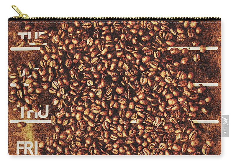 Artwork Carry-all Pouch featuring the photograph The All Week Coffee Break by Jorgo Photography - Wall Art Gallery