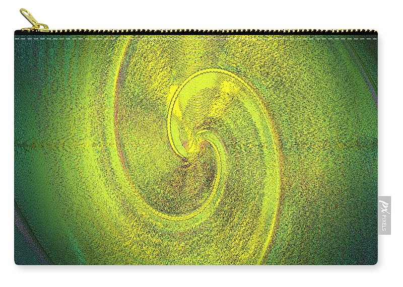 Grossdrucke Carry-all Pouch featuring the digital art The Alternate Idea by Helmut Rottler