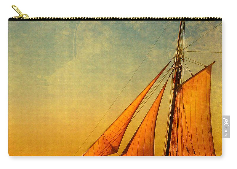 The America Carry-all Pouch featuring the photograph The America Nr 3 by Susanne Van Hulst