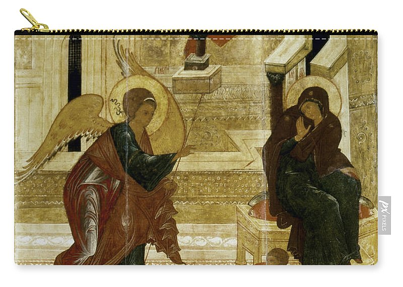 16th Century Carry-all Pouch featuring the photograph The Annunciation by Granger