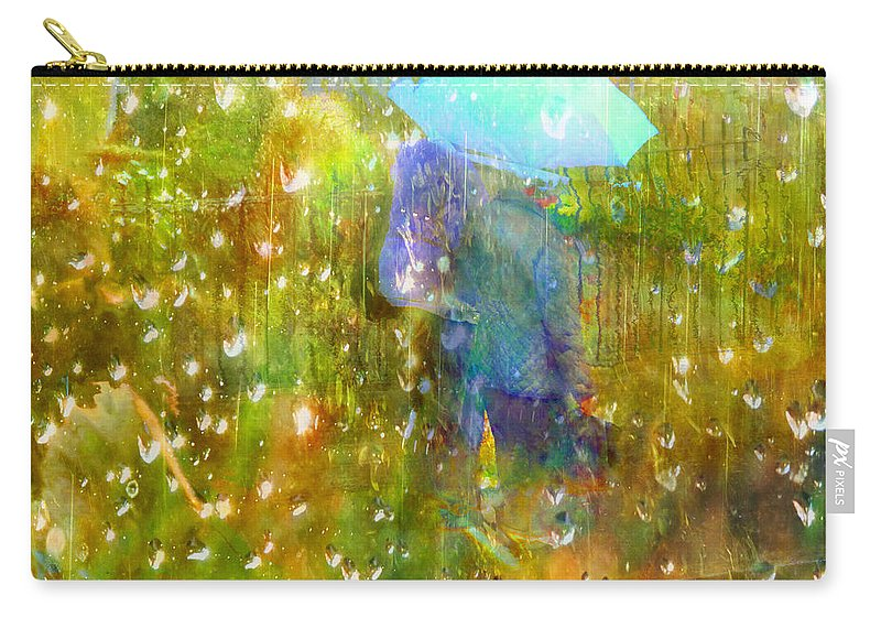 Autumn Carry-all Pouch featuring the photograph The Approach Of Autumn by LemonArt Photography