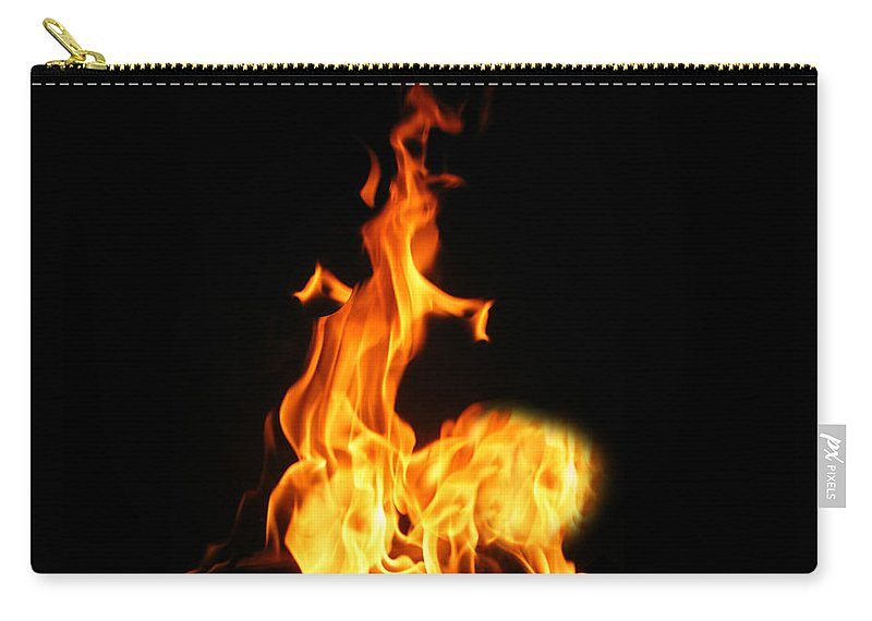 Archer Carry-all Pouch featuring the photograph The Archer by Munir Alawi