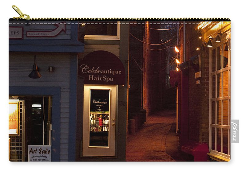 Art Sale Carry-all Pouch featuring the photograph The Art Sale by Steven Natanson