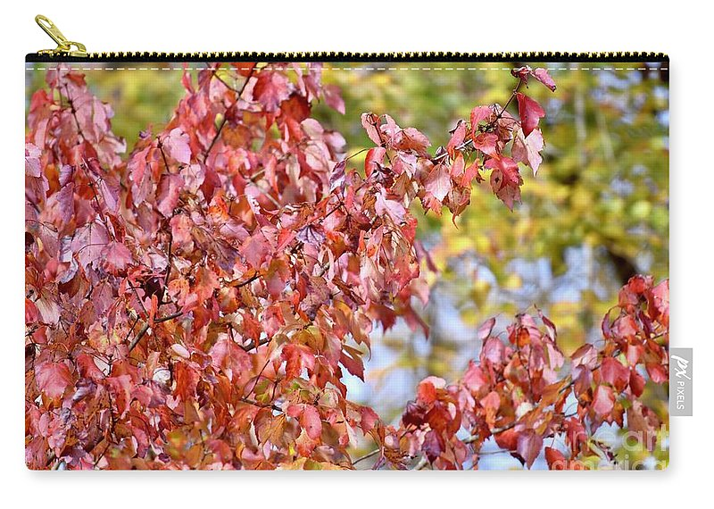 Autumn Carry-all Pouch featuring the photograph The Autumn Leaves by Jeramey Lende