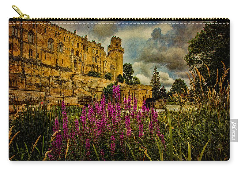 Castle Carry-all Pouch featuring the photograph The Avon At Warwick by Chris Lord