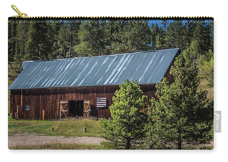 Barn Carry-all Pouch featuring the photograph The Barn by Gayne Dorio