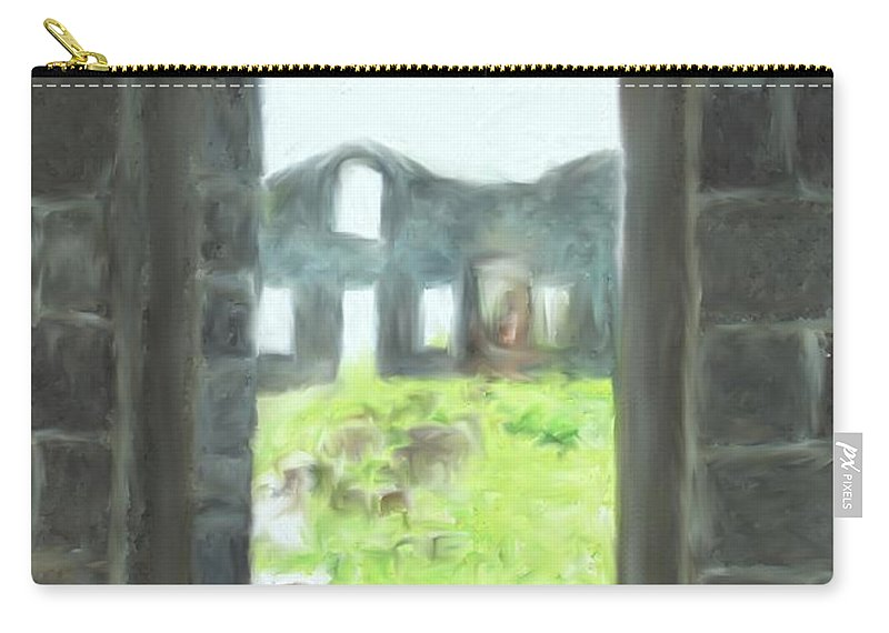 Brimstone Carry-all Pouch featuring the photograph The Barraks by Ian MacDonald