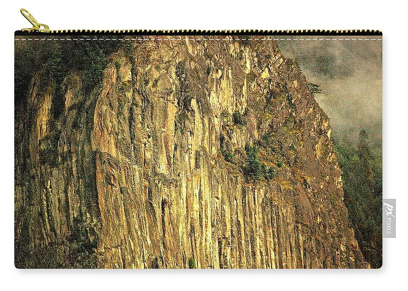 Beacon Rock Carry-all Pouch featuring the photograph The Beacon Rock Encounter by David Coleman