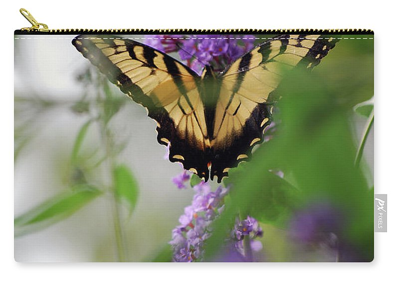Swallowtail Carry-all Pouch featuring the photograph The Beauty Of Spring by Lori Tambakis