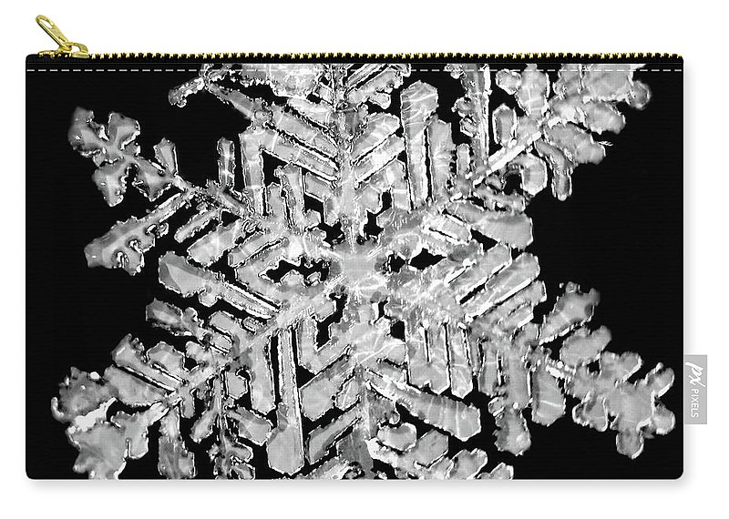 Lauren Radke Carry-all Pouch featuring the photograph The Beauty Of Winter by Lauren Radke