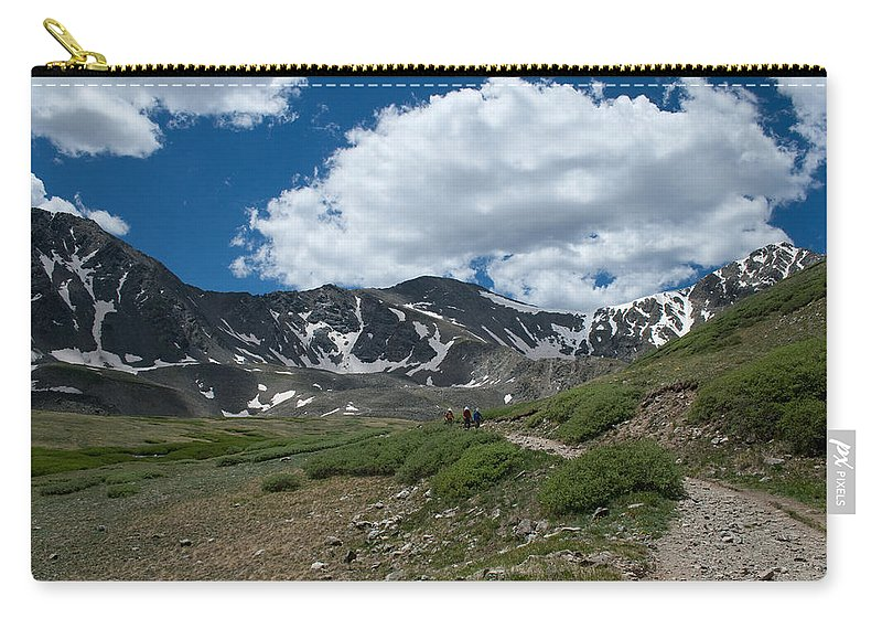Grays Peak Carry-all Pouch featuring the photograph The Beginning by Angus Hooper Iii