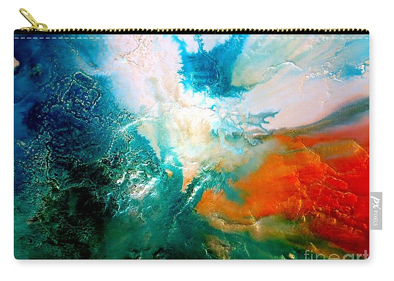 The Beginning Carry-all Pouch featuring the photograph The Beginning by Tim Townsend