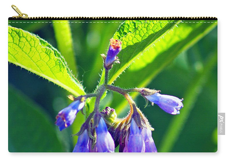 Fine Art Photography Carry-all Pouch featuring the photograph The Bells Of Ireland by Patricia Griffin Brett