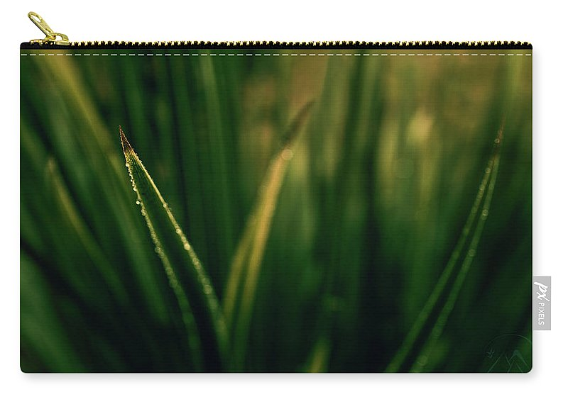 Blade Grass Carry-all Pouch featuring the photograph The Blade by Gene Garnace