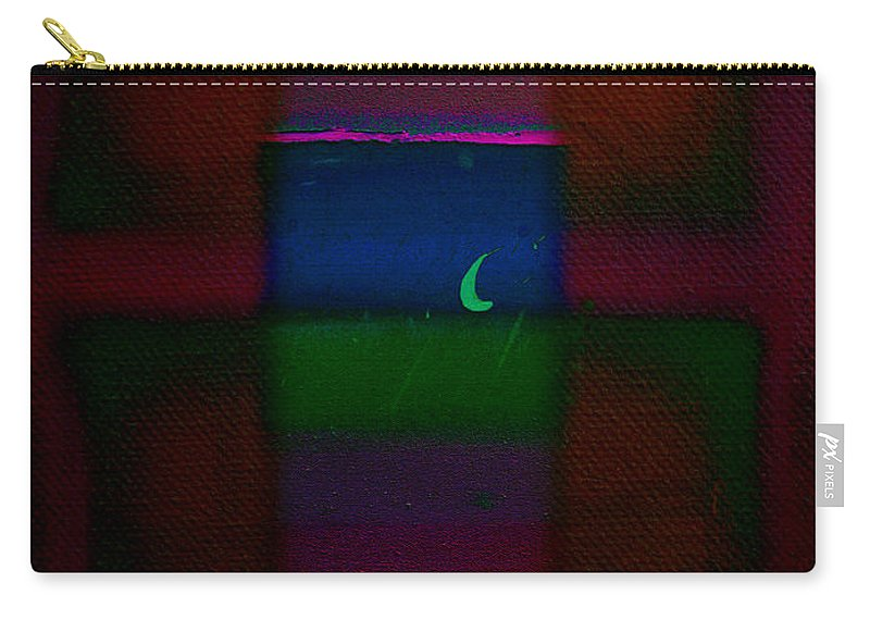 Rothko Carry-all Pouch featuring the painting The Blue Nile by Charles Stuart