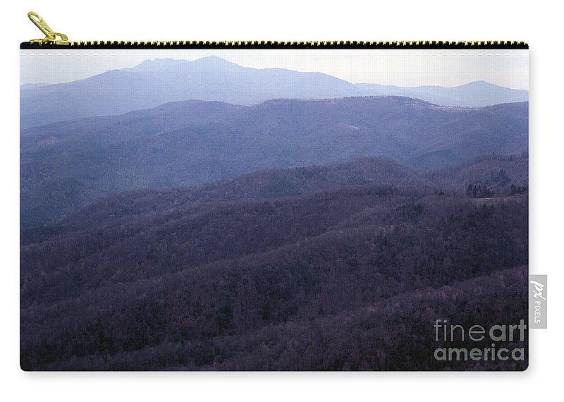 Mountains Carry-all Pouch featuring the photograph The Blue Ridge by Richard Rizzo