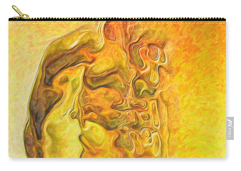 Bonfire Carry-all Pouch featuring the painting The Bonfire by Joaquin Abella