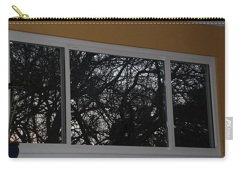 Window Carry-all Pouch featuring the photograph The Branch Window by Rob Hans