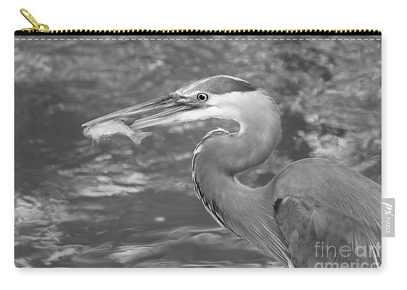 Christian Carry-all Pouch featuring the photograph The Breadwinner II by Anita Oakley