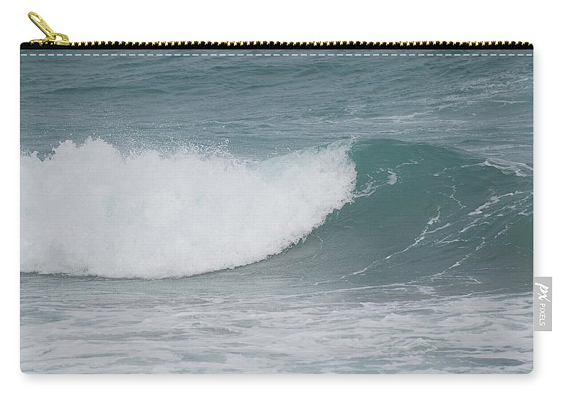 Water Carry-all Pouch featuring the photograph The Break by Rob Hans