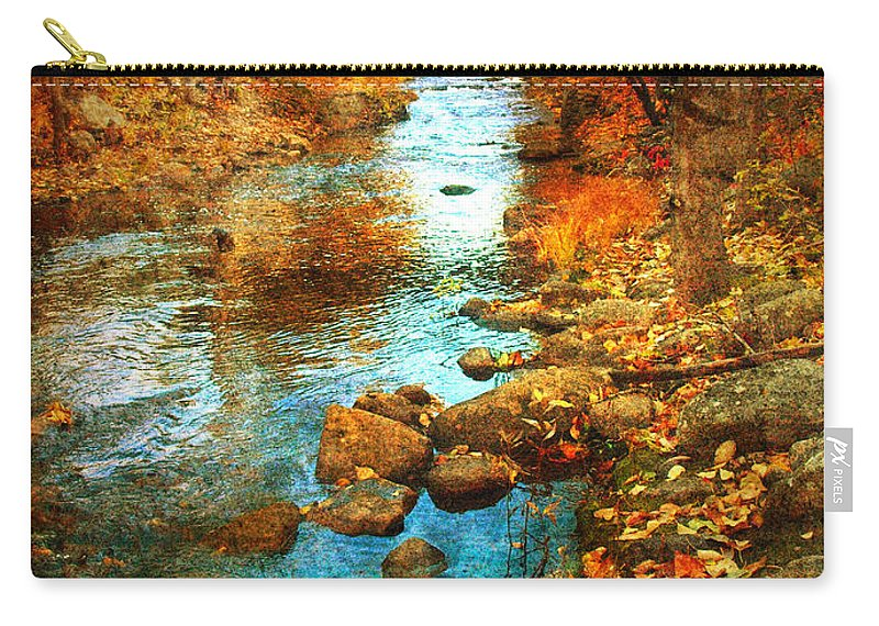 Penticton Carry-all Pouch featuring the photograph The Bridge By Government Street by Tara Turner