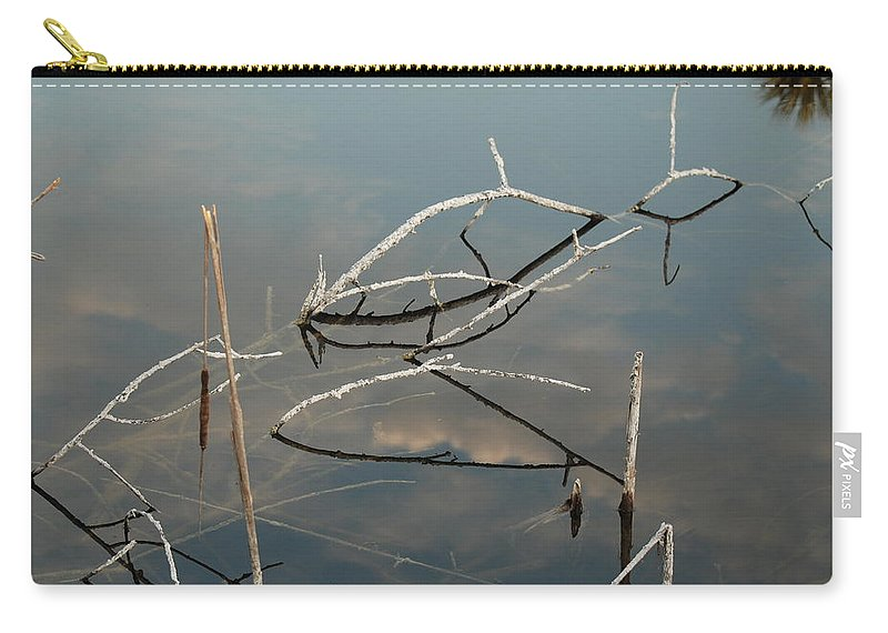 Wood Carry-all Pouch featuring the photograph The Bridge by Rob Hans