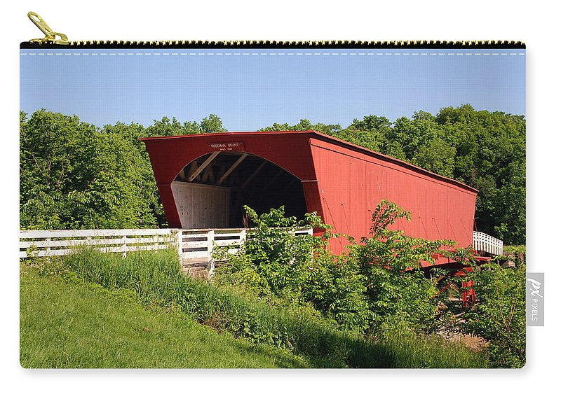 Photography Carry-all Pouch featuring the photograph The Bridges Of Madison County by Susanne Van Hulst